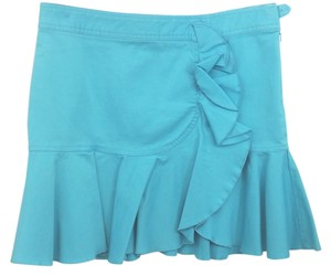 A|X Armani Exchange Jean Skirt AQUA