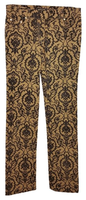 Item - Brown/Black And Cotton Blend 38 Pants Size 4 (S, 27)
