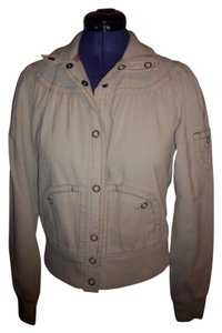 Mossimo Supply Co. Corduroy Autumn Snap beige Womens Jean Jacket
