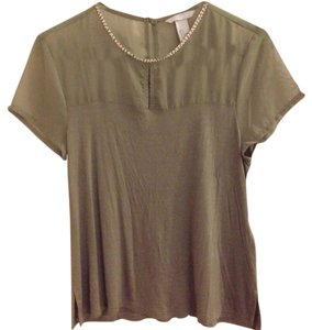 H&M T Shirt Olive green