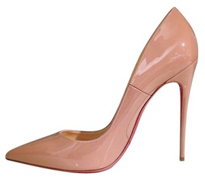 Christian Louboutin So Kate So Kate Patent So Kate Size 37 Nude Pumps