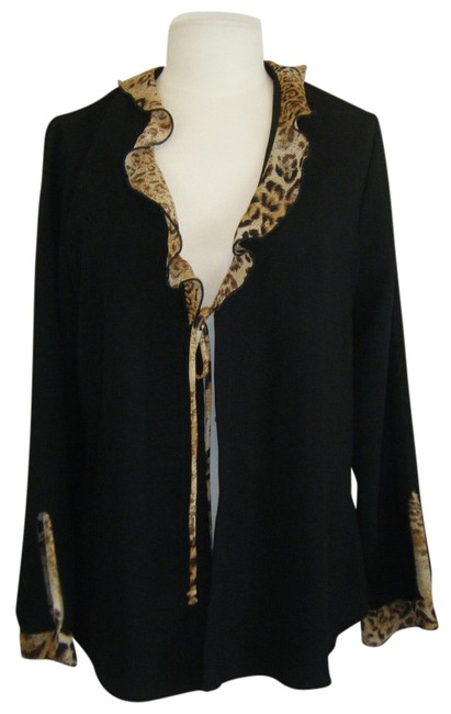 Preload https://item3.tradesy.com/images/believe-black-w-leopard-jacket-trim-at-neck-and-sleeve-open-front-ties-in-middle-blazer-size-12-l-1315182-0-0.jpg?width=400&height=650