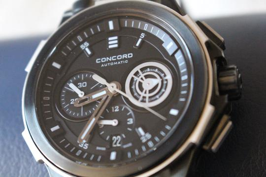 Concord BNIB Concord C2 GraffitiGrey Y-12 Limited Edition Chronograph Mens Watch