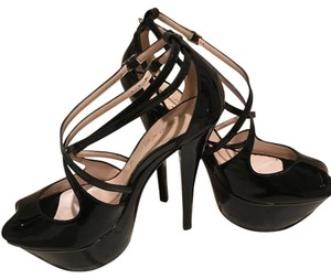 Casadei Black Platforms
