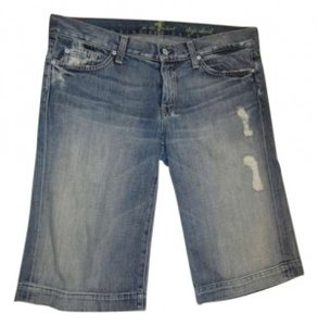 Seven Jeans Denim Shorts-Distressed