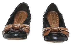 Prada Black/Brown Flats