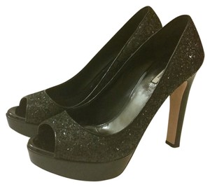 Miu Miu Pump Glitter black Pumps