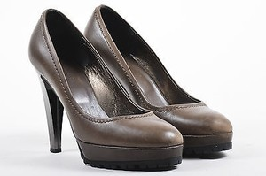 Max Mara Leather Brown Pumps