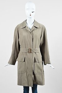 Burberry London Taupe Khaki Trench Coat
