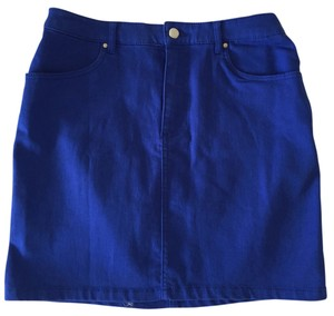 H&M Mini Skirt Royal blue