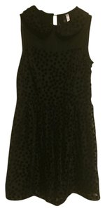 Bar III short dress Black Velvet on Tradesy