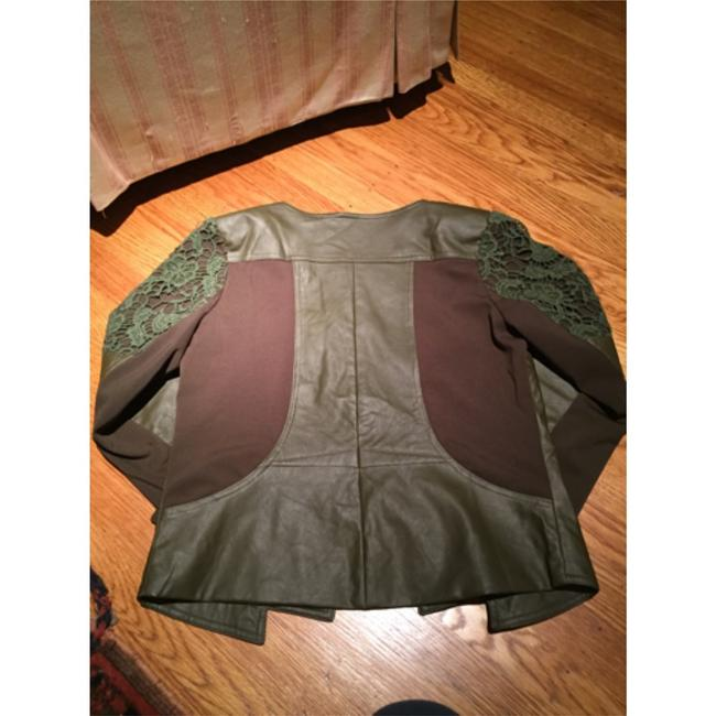 Italiagogo Military green Leather Jacket Image 1