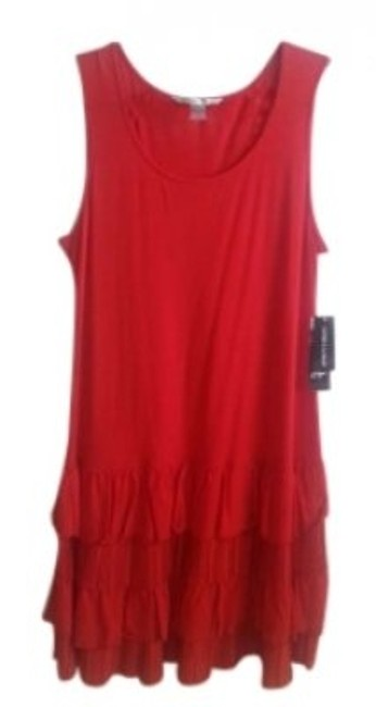 Peter Nygard short dress Red on Tradesy