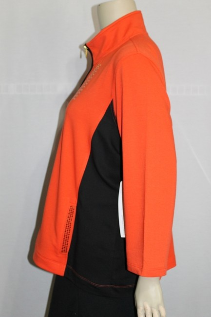 Onque Woman Orange/Black Jacket