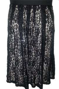 STATUS Skirt BLACK METALLIC