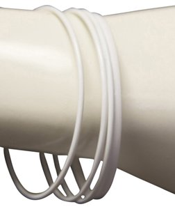 Other Basic White Bangles Set of 4