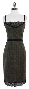 Dolce&Gabbana short dress Green Plaid Spaghetti Strap on Tradesy