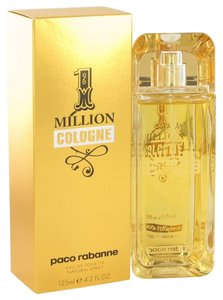 1 MILLION COLOGNE by PACO RABBANE ~ Men's Eau De Toilette Spray 4.2 oz