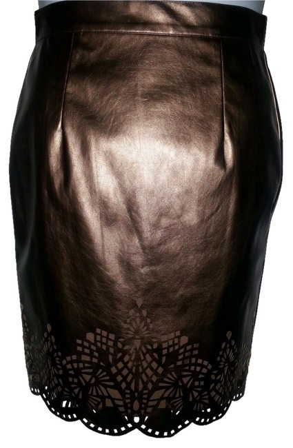 Preload https://img-static.tradesy.com/item/1315737/antonio-melani-bronze-with-cutouts-skirt-size-2-xs-26-0-0-650-650.jpg