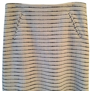 Ann Taylor LOFT Skirt White, baby blue, black