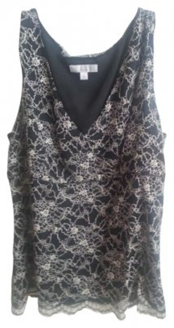 Preload https://img-static.tradesy.com/item/131577/caslon-blackcream-lace-style-cn11243misleeveless-and-lacecaslonnordstrom-blouse-size-16-xl-plus-0x-0-0-650-650.jpg