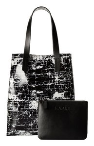 L.A.M.B. Tote in Pink/Black