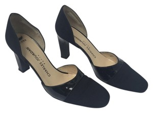 Charles Jourdan Vintage Patent Leather Black Pumps