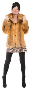 Saga Furs Fur Fox Fur Red Fox Fur Coat