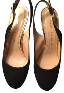 Charlotte Olympia Black & Gold Formal