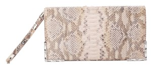 Marchesa Beige Clutch