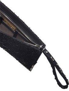 Marchesa Beaded Black Clutch