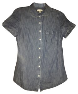 J.Crew Button Down Shirt Denim blue