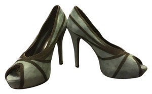 Jessica Simpson Peep Toe Pump Green Emerald Green, Black Pumps