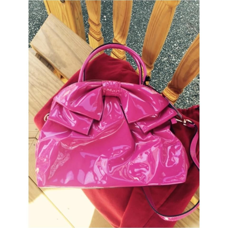 Pink Bag Leather Valentino Patent Cross Body UXn7O07