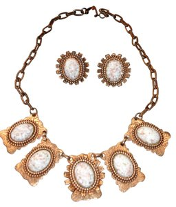 American Vintage Beautiful vintage Copper necklace and earrings must have!!!
