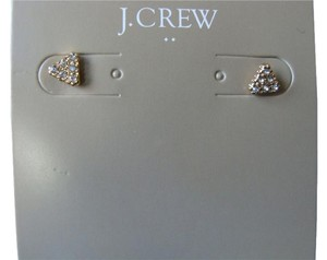 J.Crew J. Crew Gold & Crystal Pave Earrings