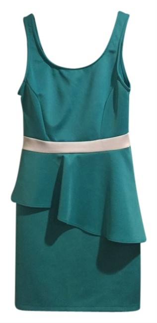Preload https://item1.tradesy.com/images/tobi-turquoise-cocktail-dress-size-4-s-1315930-0-0.jpg?width=400&height=650