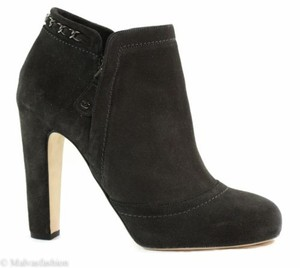 Chanel Short Ankle Gray Boots