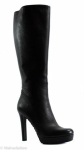 Gucci 353692 Womens Leather Black Boots