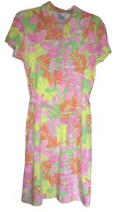 Lilly Pulitzer short dress Pink yellow green orange on Tradesy