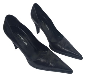 Sergio Rossi Vintage Patent Leather Black Pumps