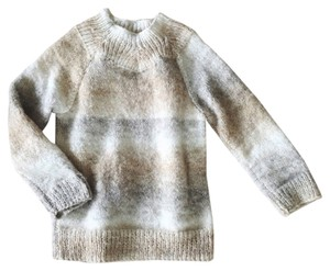 Anthropologie Handknit Ombre Mohair Sweater