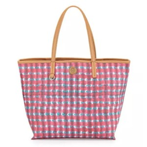 Tory Burch Tory Tory Square Tory Square Tote in Sonda Combo