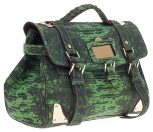 Mulberry Satchel in green