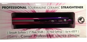 CONAIR Flat Iron Hair Straightener; JILBERE Professional Tourmaline Ceramic Ombre Flat Iron by CONAIR Professional - [ Roxanne Anjou Closet ]
