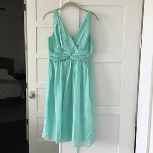 Donna Morgan Teal Dress