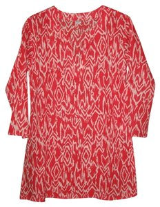 Other Silk Ikat Print Tory Burch Tunic