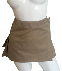 Gianfranco Ferre Mini Skirt Beige