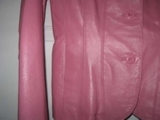Wilsons Leather Pink Leather Jacket
