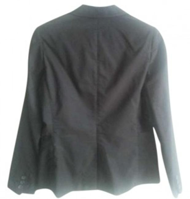 Preload https://img-static.tradesy.com/item/131622/banana-republic-black-stripe-blazer-size-14-l-0-0-650-650.jpg